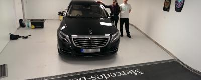 Mercedes-Benz S - mobilní