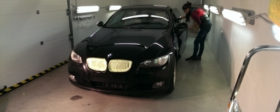 BMW 335i - renovace laku
