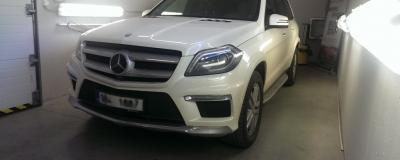 Mercedes-Benz GL AMG - tuhý vosk