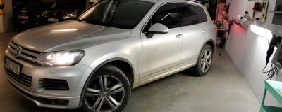 VW Tuareg - do detailu