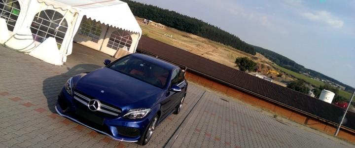 Ošetření automobilu před zimou – fotogalerie Mercedes – Benz C